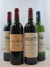 10 bouteilles 3 bts : CHÂTEAU PONTET CANET 1999 5è GC Pauillac