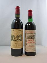 12 bouteilles 6 bts : CHÂTEAU L'EGLISE CLINET 1967 Pomerol (haute épaule, capsule négoce)