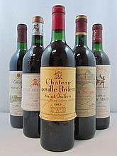 12 bouteilles 1 bt : CHÂTEAU PAPE CLEMENT 1989 CC Pessac Léognan (étiquette tachée par l'humidité)