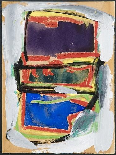 Michel CARRADE (né en 1923) TETE, 1966