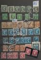France - Classeur contenant des timbres-poste des premières émissions, tous états.