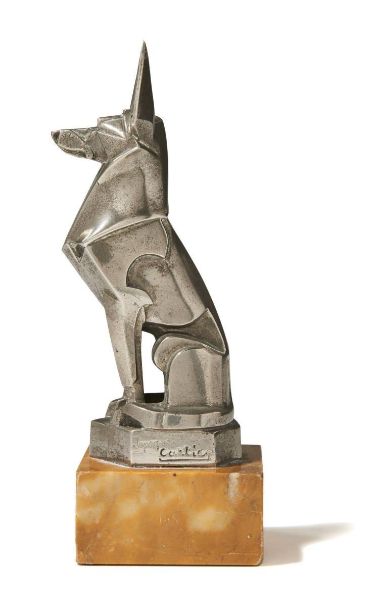 CHIEN ART DÉCO Par Jacques Cartier (1907-2001)