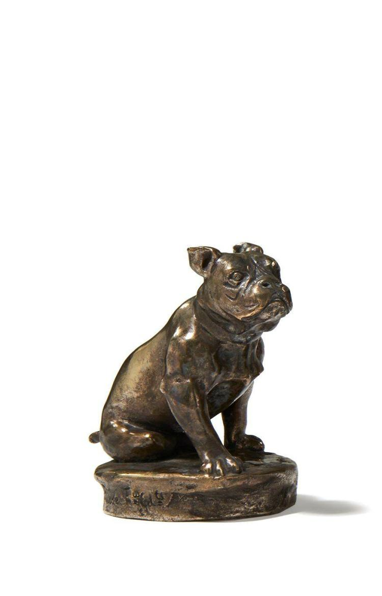BOULEDOGUE  Par Joseph Emmanuel Cormier, dit Joe Descomps (1869-1950)