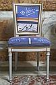 Houda KASSALTY et la Galerie Alice Mogabgab, Beyrouth CHAISE DE STYLE DIRECTOIRE Chaise