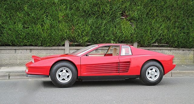 ferrari testarossa junior circa 1983 1985 par agostini 7. Black Bedroom Furniture Sets. Home Design Ideas