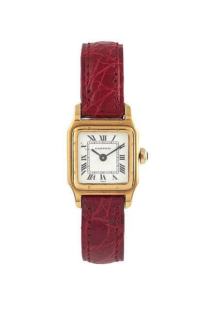 CARTIER  Mini Santos, n° 780980241, vers 1980