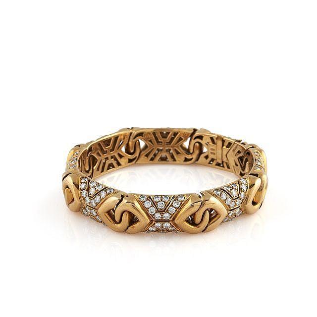 BULGARI  Bracelet demi-jonc