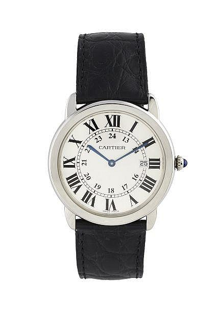 CARTIER  Ronde Solo, n° 695438SX, vers 2012