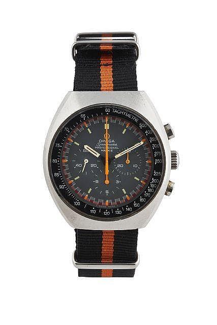 OMEGA  Speedmaster Mark II, ref. 145.014, n° 32190258, vers 1970