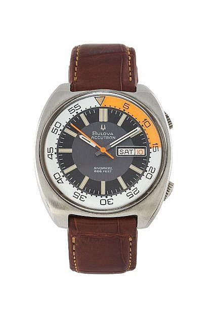 BULOVA Accutron Snorkel, n° 1-935028, vers 1970