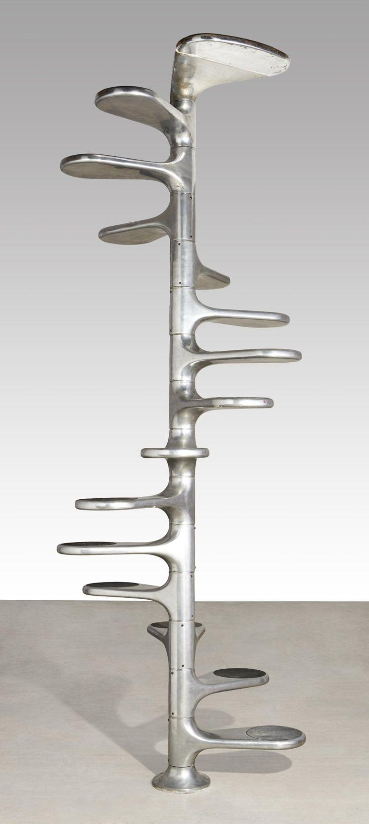 Roger tallon 1929 2011 escalier h lico dal cr ation 19 - Escalier roger tallon ...