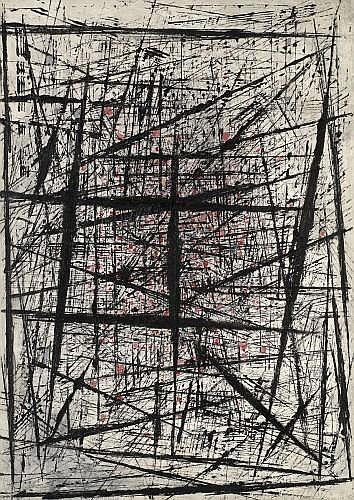 Bernard QUENTIN (né en 1923) COMPOSITION, 1951