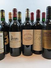 10 bouteilles 1 bt : CHÂTEAU ANDRON BLANQUET 1990 Saint Estèphe (étiquette léger abimée)£1 bt : CHÂTEAU CANTENAC BROWN 1999 3è GC Marga