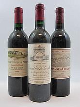 12 bouteilles 1 bt : CHÂTEAU TROPLONG MONDOT 1988 GCC Saint Emilion