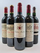 7 bouteilles 1 bt : CHÂTEAU MONTROSE 1999 2è GC Saint Estèphe