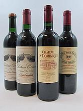 9 bouteilles 2 bts : CHÂTEAU LA DOMINIQUE 2005 GCC Saint Emilion
