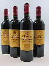 12 bouteilles 2 bts : CHÂTEAU LEOVILLE POYFERRE 1996 2è GC Saint Julien