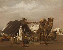 ISIDORE PILS 1813-1875 LE CAMPEMENT