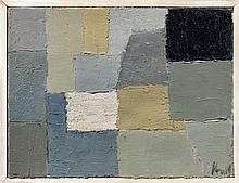 Nicolas de STAEL 1914 - 1955 Composition - 1950 Huile sur toile