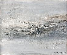 ZAO WOU-KI 1920 - 2013 25.08.60 - 1960 Huile sur toile