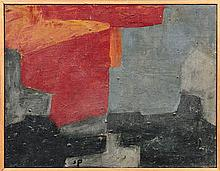 Serge POLIAKOFF 1900 - 1969 Composition - 1966 Huile sur toile