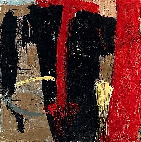 Tony SOULIE (né en 1955) MASQUE, 1988 Acrylique sur toile