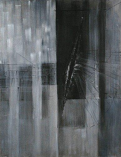 Cesare PEVERELLI (né en 1922) ILE DE RE, 1960 Huile sur toile