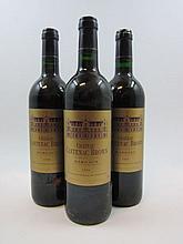 6 bouteilles 1 bt : CHÂTEAU CANTENAC BROWN 1996 2è GC Margaux