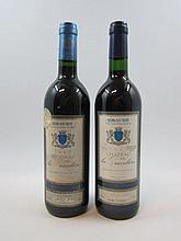 12 bouteilles 6 bts : CHÂTEAU GRAVELIERES 1997 Cuvée de Prestige. Graves