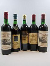 6 bouteilles 1 bt : CHÂTEAU DE SALES 1969 Pomerol
