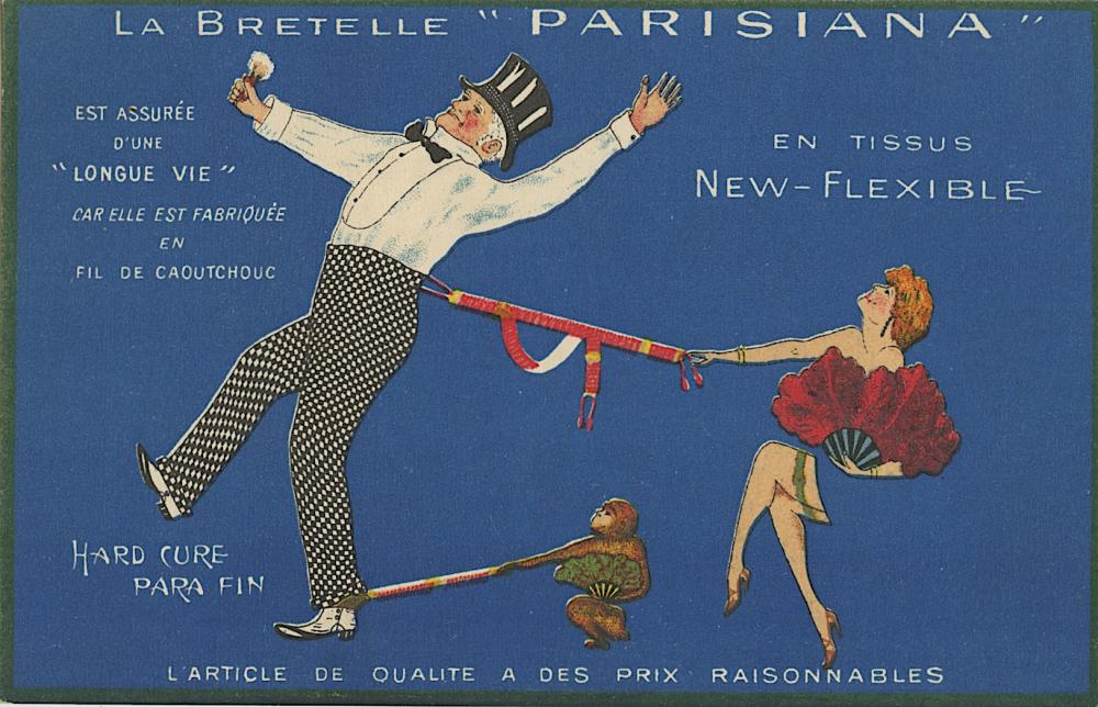 Antique Vintage Rare Postcard Advertising