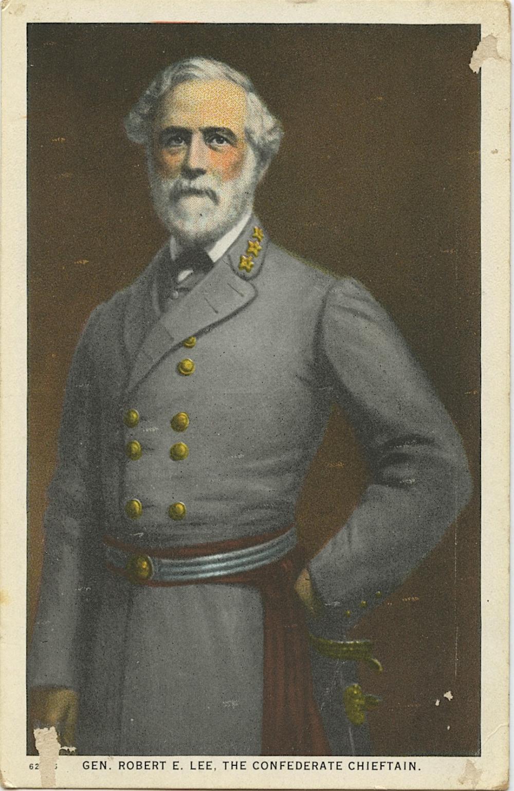 Antique Vintage Rare Postcard Gen. Robert Lee