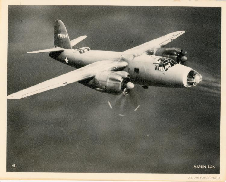 Old Photoengraving U.S. AIR FORCE Aviation, 1950s