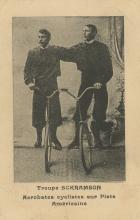 Antique PC Circus Bicycle Acrobatic, 1910s
