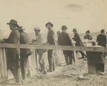 N.E.A. Silver Rail Birds at the Kentucky Derby, 1915