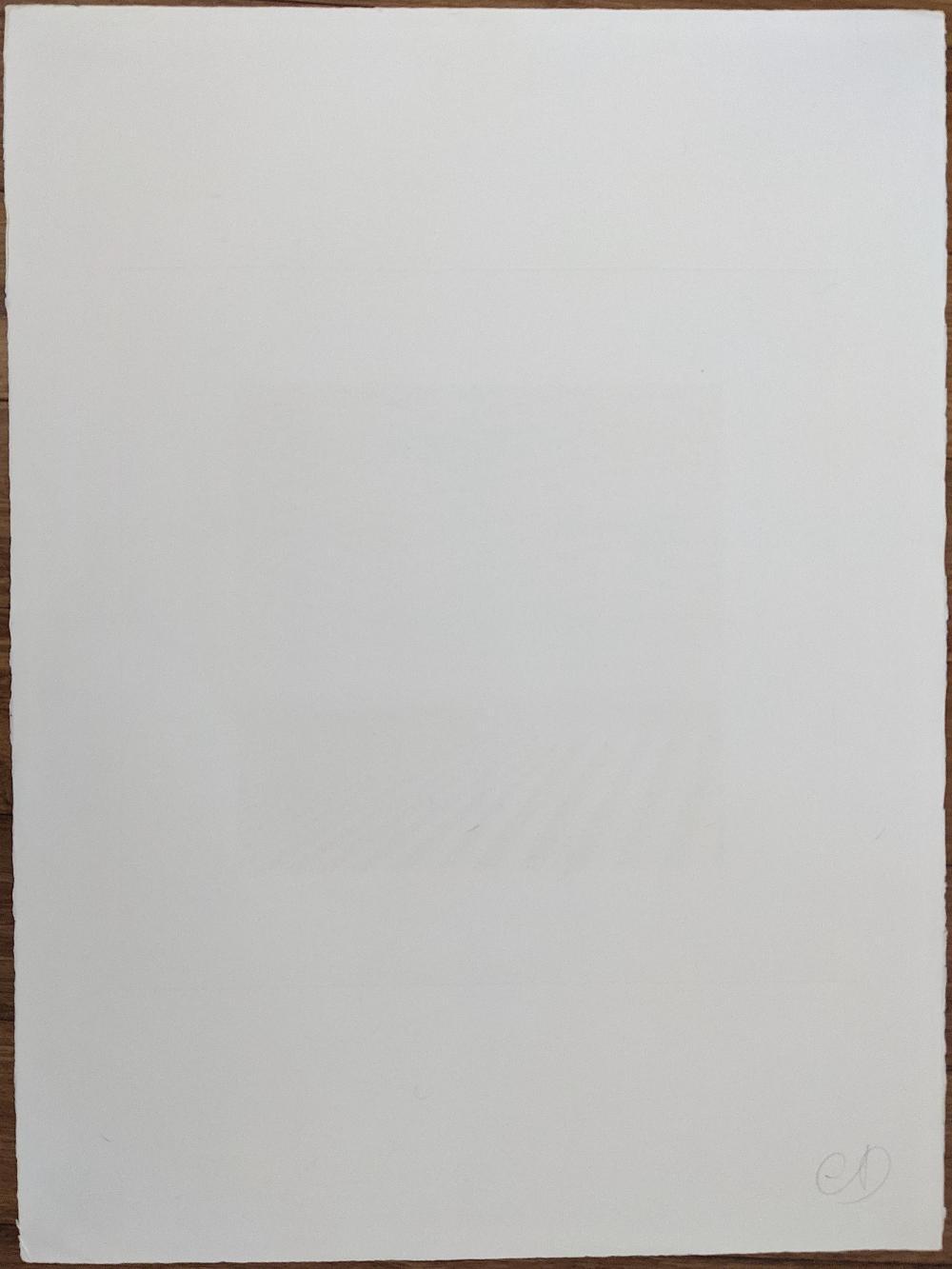 JEAN SOLOMBRE Hand Signed Aquatint Engraving 25/25