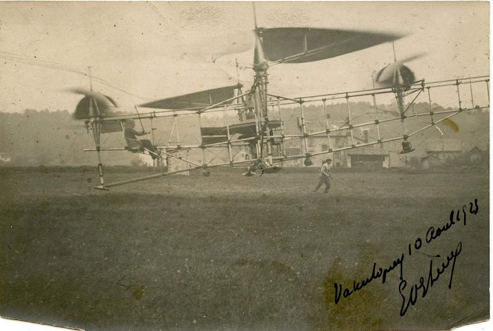 Antique / Vintage Historical Photo Pioneers Aviation