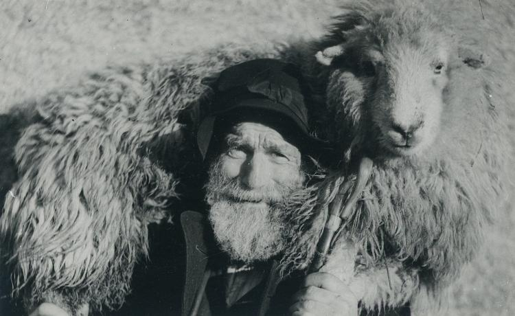 Antique photo by Joseph Hardman, 1920s