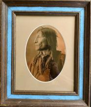Vintage  Print Native American by Frank A. Rinehart