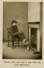 Antique PC Coal Merchant