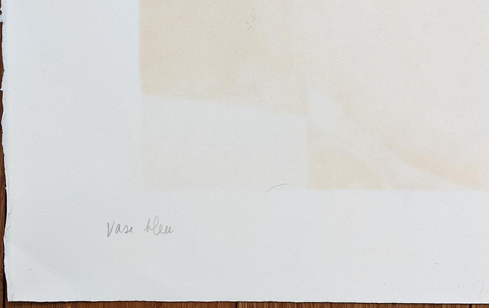 CLAUDE GAVEAU Signed Original Lithograph EA
