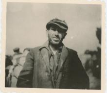 AGFA LUPEX  Photo Jew Prisioner Concentration Camp, WWII