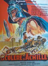 C. BELINSKY Poster La Colere d Achille, 1962