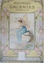 Antique NOUVELLES GALERIES, Marseille France 1907