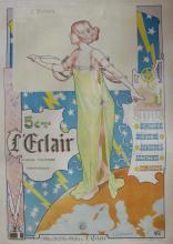 E. VAVASSEUR Art Deco Poster, French 1897