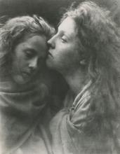 JULIA M. CAMERON, The Kiss of Peace, Old Prof. Photo.