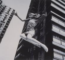 JOHN COWAN, Flying High, Old Prof. Photo.