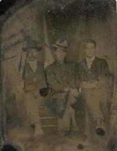 Antique Tintype Cowboys or Farmers
