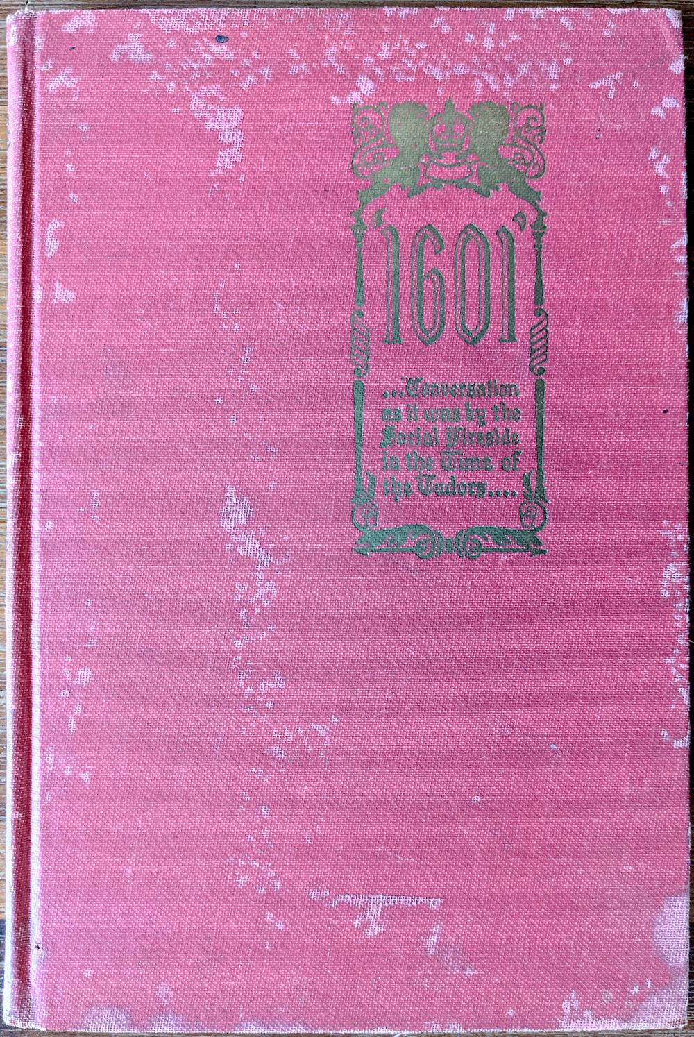Privately Printed Edition of MARK Twain's 1601