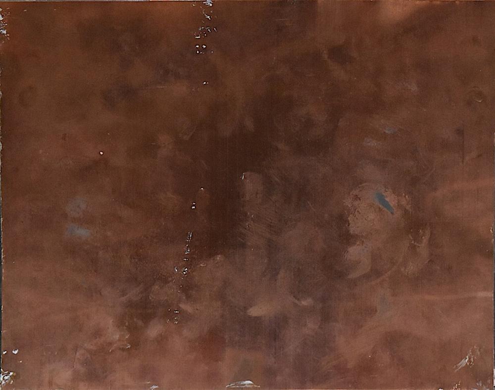 Lucie Briard (19th - 20th C.) Oil on Cooper